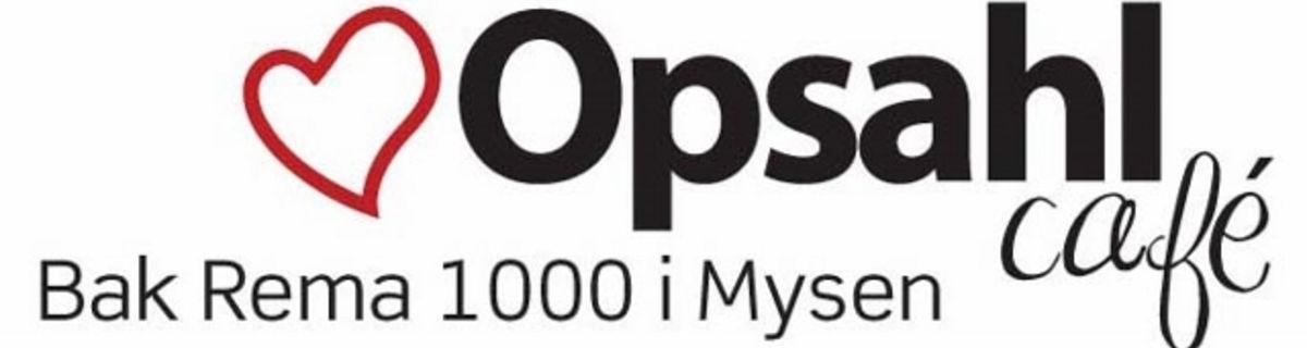 Opsahl Café- LØRDAGER KL.11.00 TIL 14.00